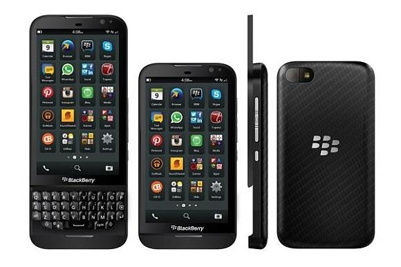 BlackBerry Z30 dan Q15