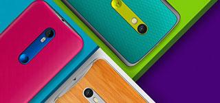 Motorola mengumumkan Moto X Style, X Play dan Moto G 2015