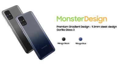 Samsung Galaxy M31s Dengan Skrin 6.5 Inci AMOLED, Bateri 6000mAh Diumumkan