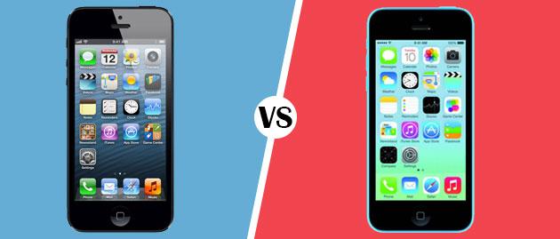 Apple iPhone 5S dan Apple iPhone 5C
