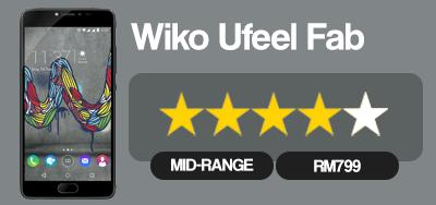 Wiko Ufeel Fab, Skrin Lebih Besar, Prestasi Lebih Baik Pada Harga RM799